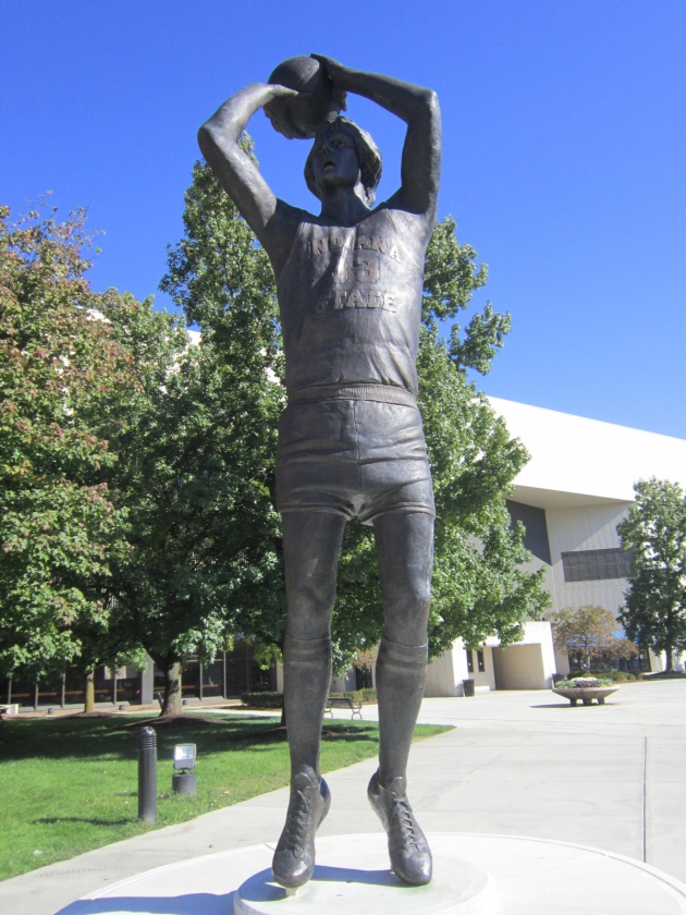 Larry Bird Statue!