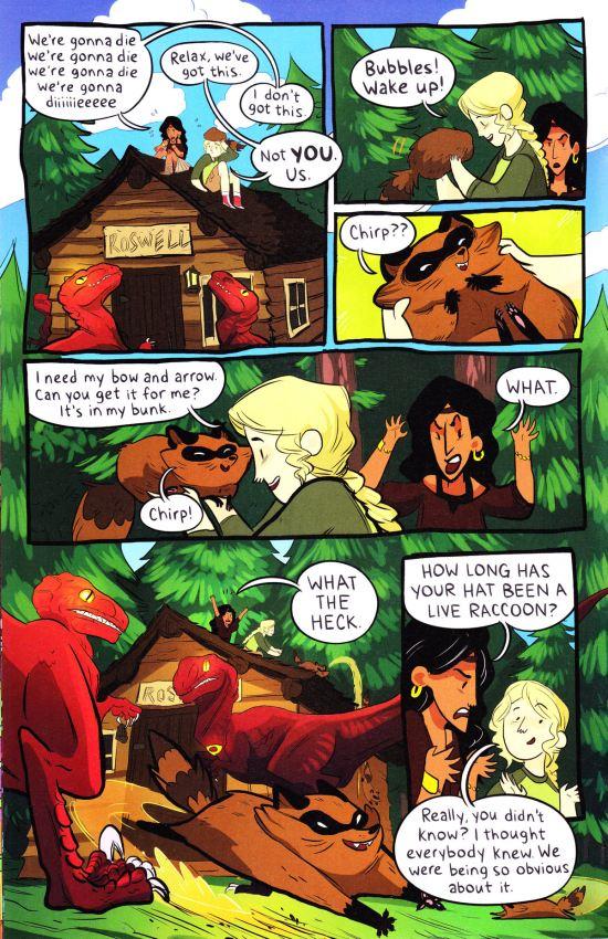 Lumberjanes #5 pg 12!