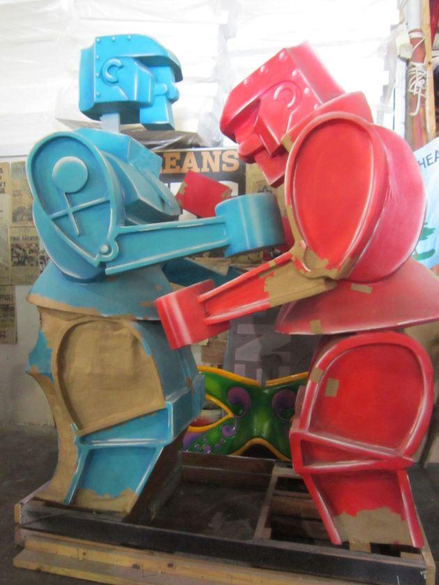 Rock 'em Sock 'em Robots!