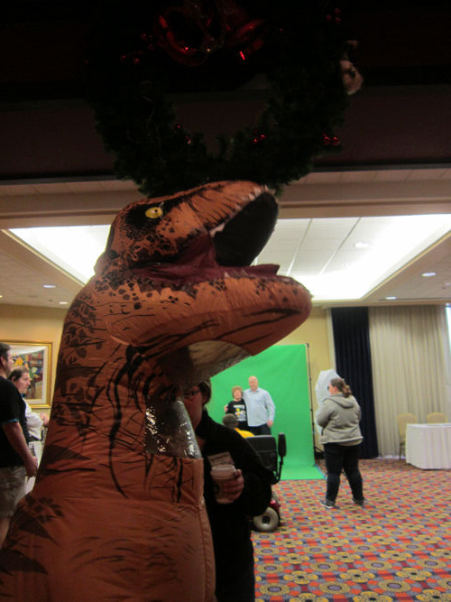 Christmas T-Rex!