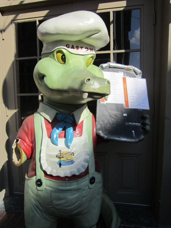Gaston Gator!