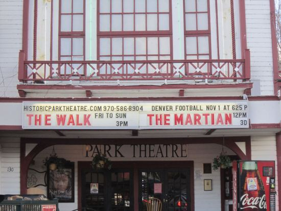 Historic Park Theatre Marquee!