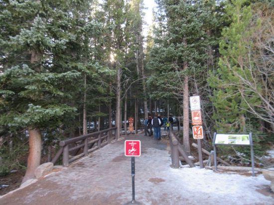 Mountain Ice Path!