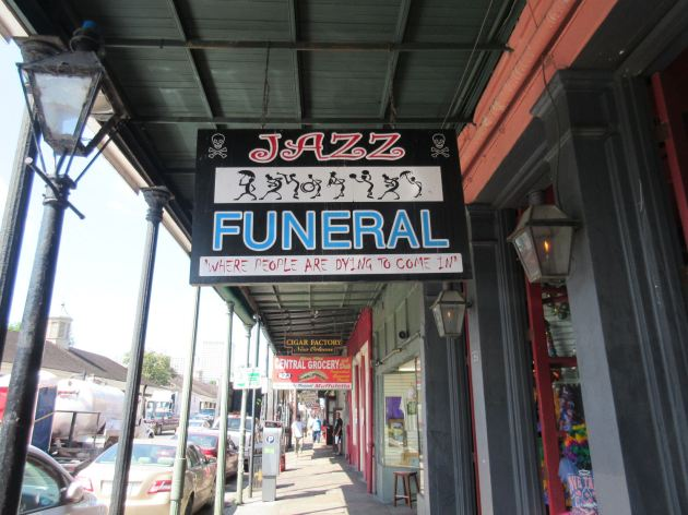 Jazz Funeral Store!