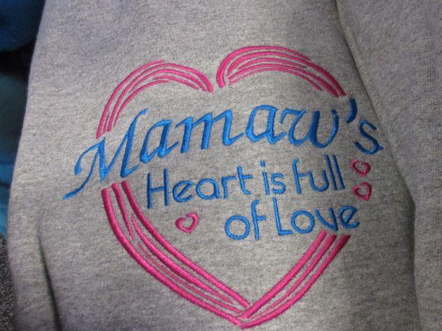 Mamaw's Heart!