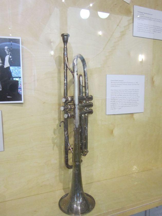 Louis Prima's Trumpet!