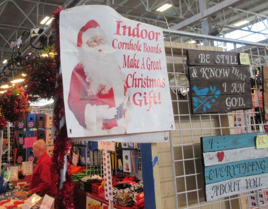 Santa's Cornholes!