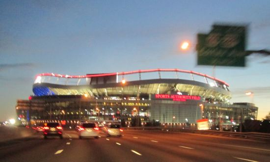 Sports Authority Field!