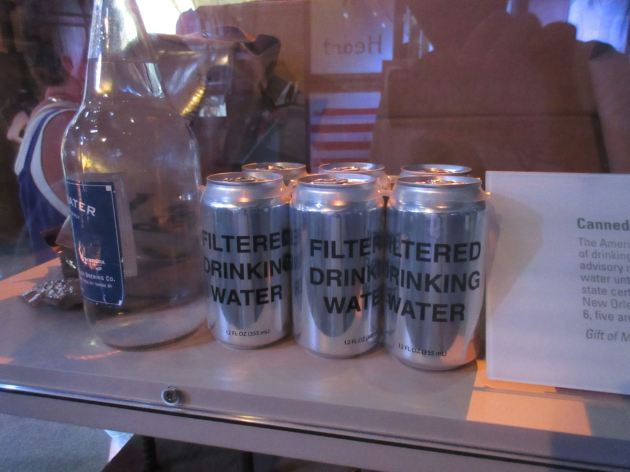 Canned Water!