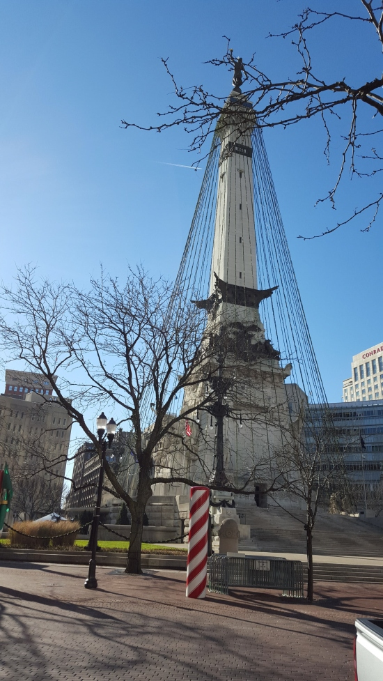Monument Circle!