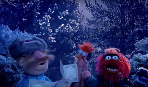 Muppet Carolers!