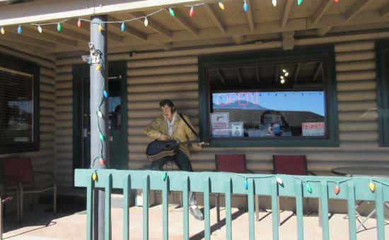 Porch Elvis!