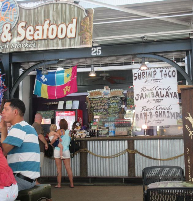 J's Seafood Dock!