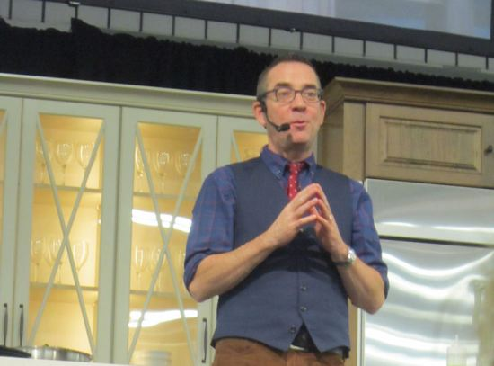 Ted Allen IS Dr. Evil!