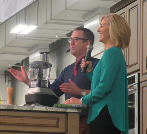 Ted Allen + Julia Moffitt!