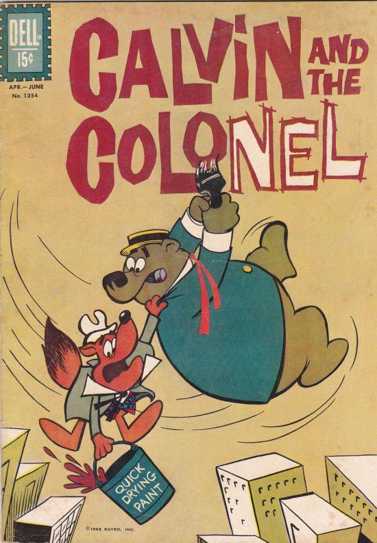 Calvin and the Colonel!