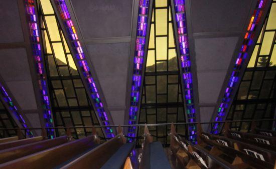 Cadet Chapel Struts!