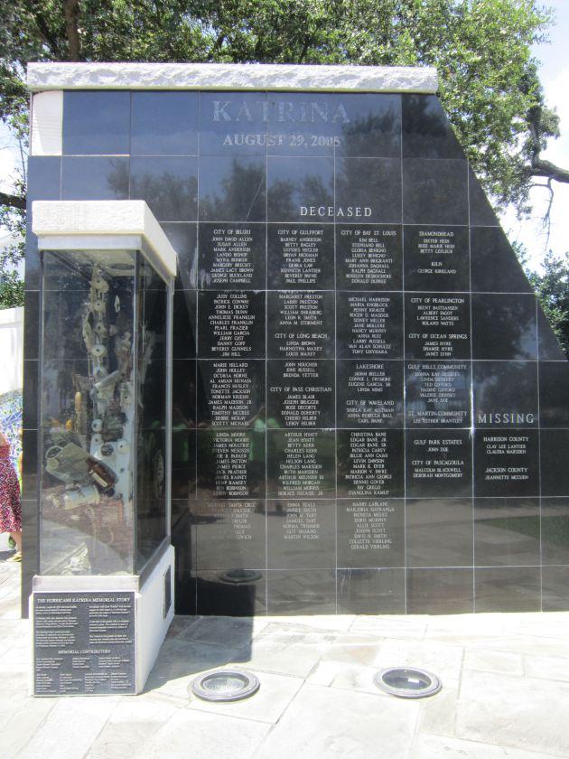 Katrina Memorial!