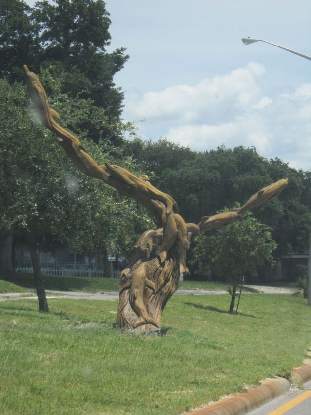 Chainsaw Sculpture!