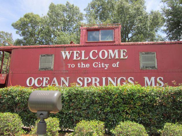 Ocean Springs Caboose!