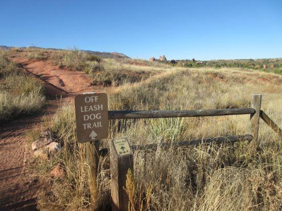 Off Leash Dog Trail!