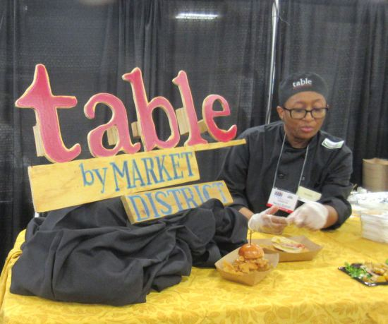Table by Market District!