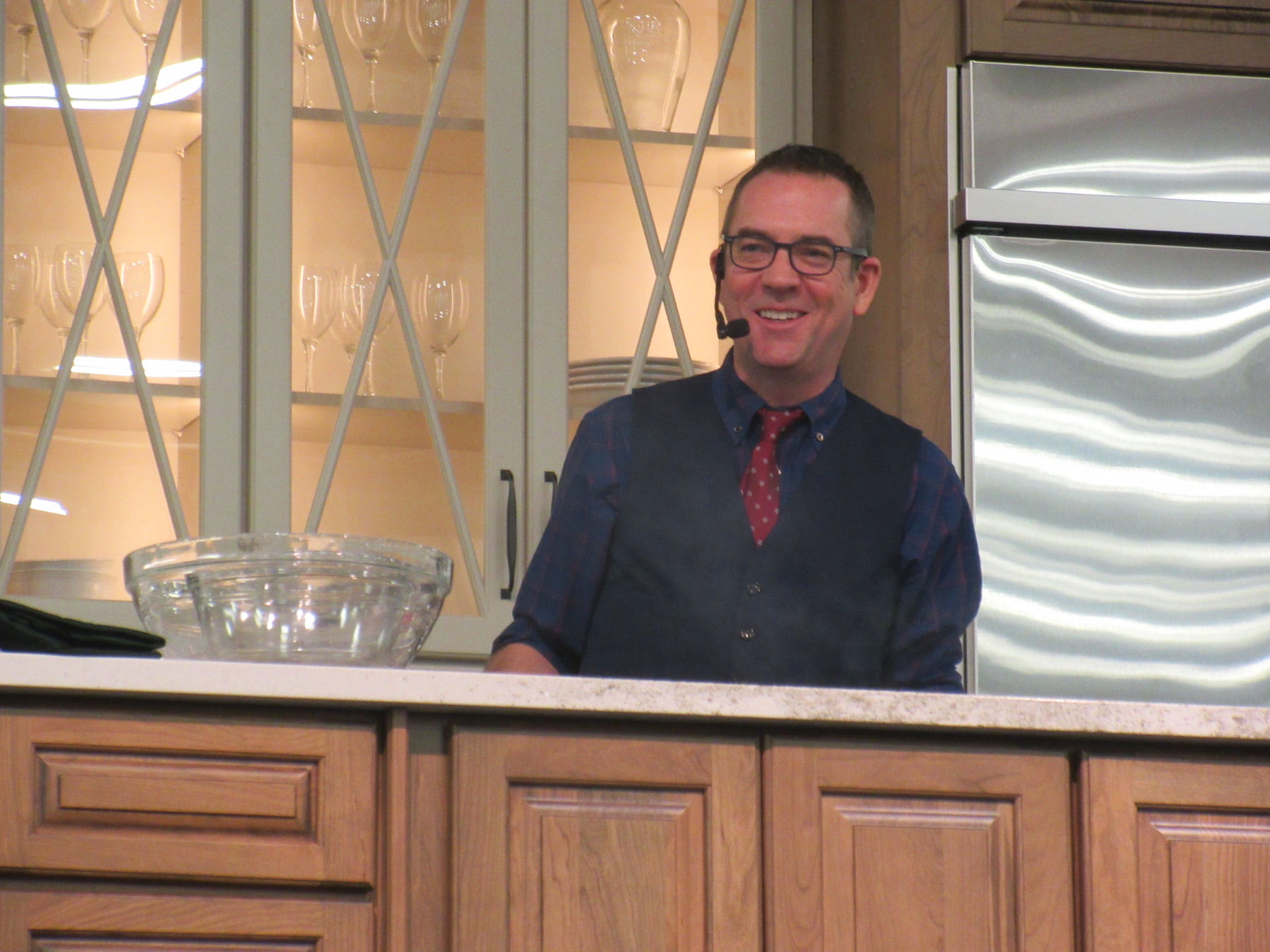 Cooking with ted allen at indys fantastic food fest midlife chef game show thats like the lynchpin of the food network cinematic universe when we heard host ted allen forumfinder Gallery