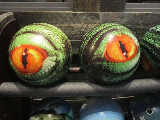 Uncle Buck's Bowling Balls!