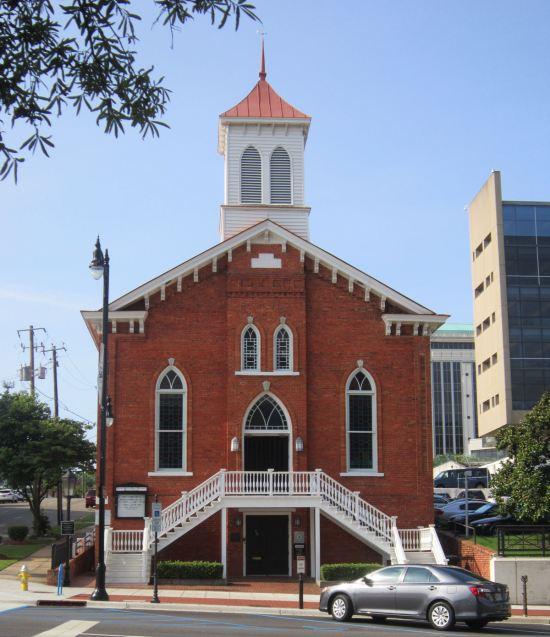 Dexter Avenue King Memorial Baptist Church.
