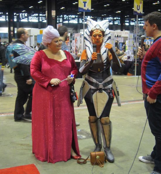 Ahsoka + Fairy Godmother!