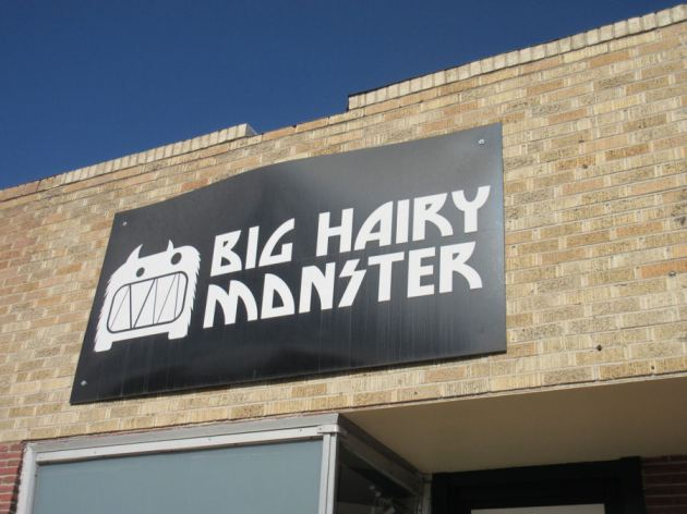 Big Hairy Monster!