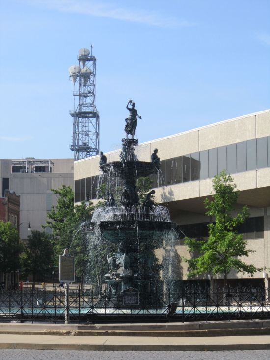 Court Square Fountain!