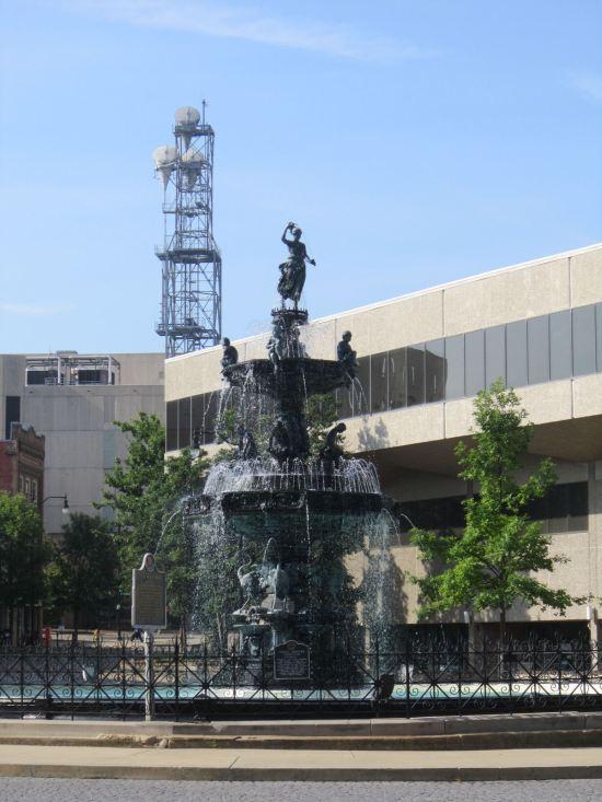 Court Square Fountain!