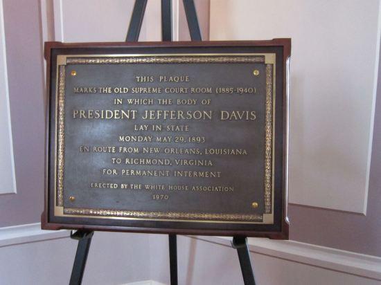 Davis Plaque.