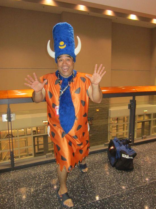 Fred Flintstone!