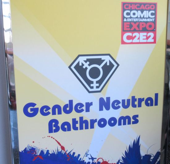 Gender Neutral Bathrooms!