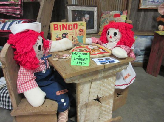 Raggedy Ann and Andy!