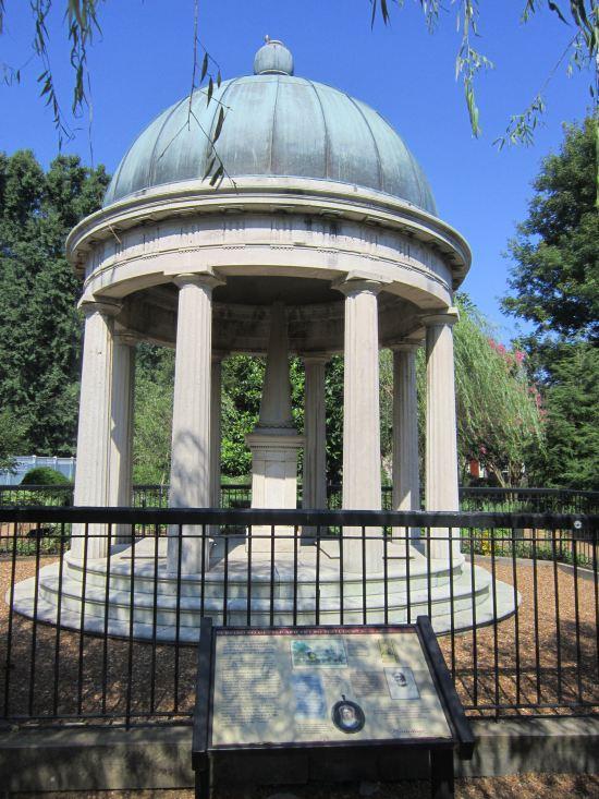 Jackson's Tomb!