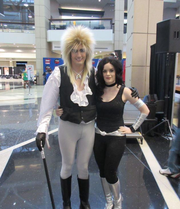Jareth + Troia!