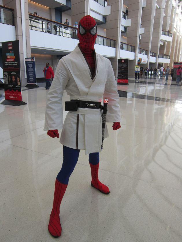 Jedi Spider-Man!