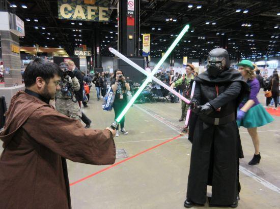Kylo v. Jedi!