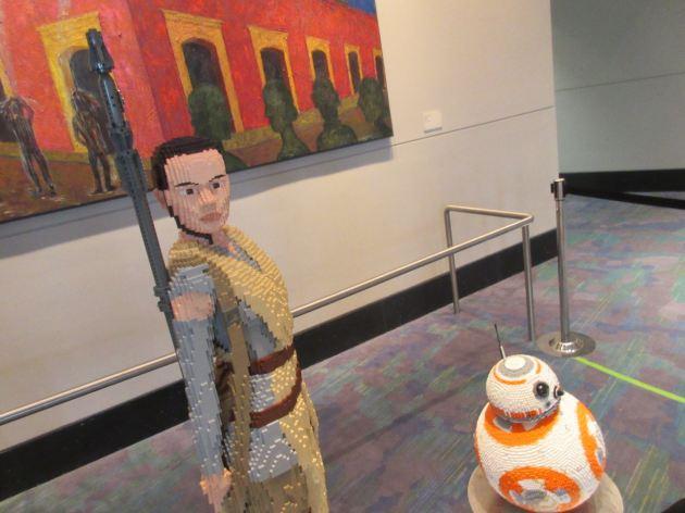 Lego Rey + BB-8!