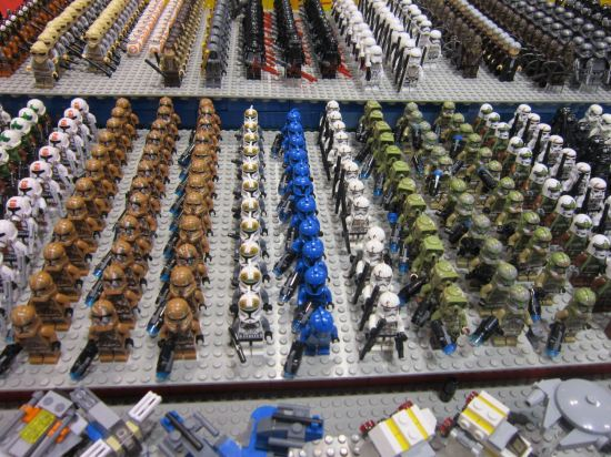 Lego Star Wars Armies!