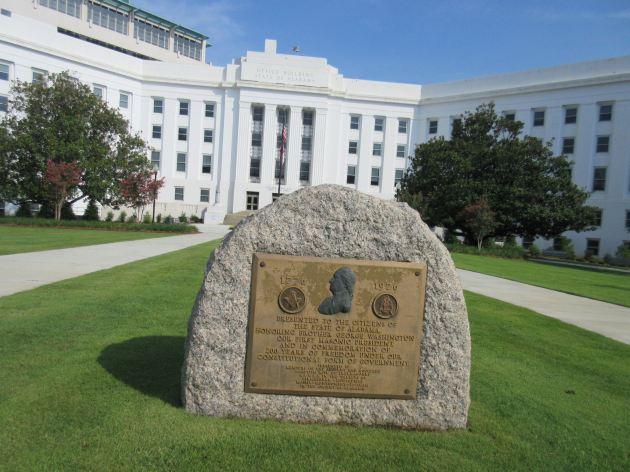 Washington Masonic Rock!