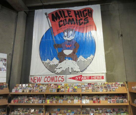 Mile High Comics!