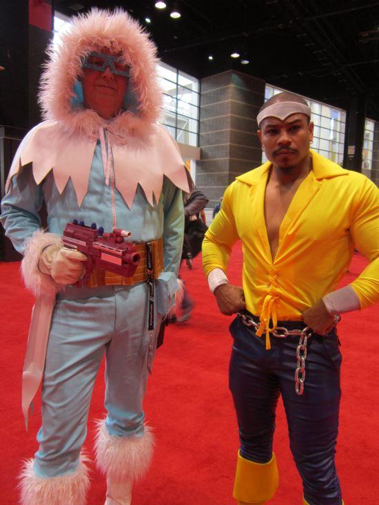 Power Man + Captain Cold!