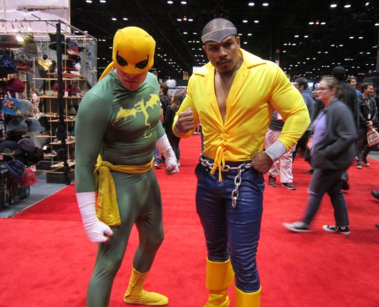 Power Man + Iron Fist!