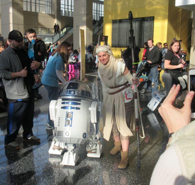 Rey + Artoo!