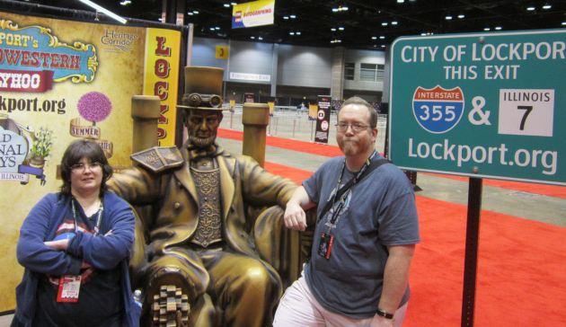 Steampunk Lincoln!