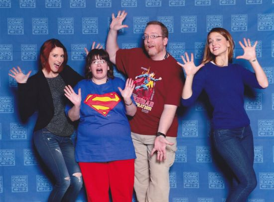 Jazz Hands Supergirl!